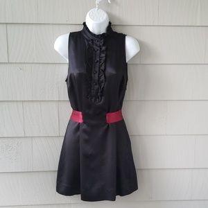 TED BAKER Black Sleeveless Silk Tunic Size 2